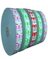 laminated paper in round shape